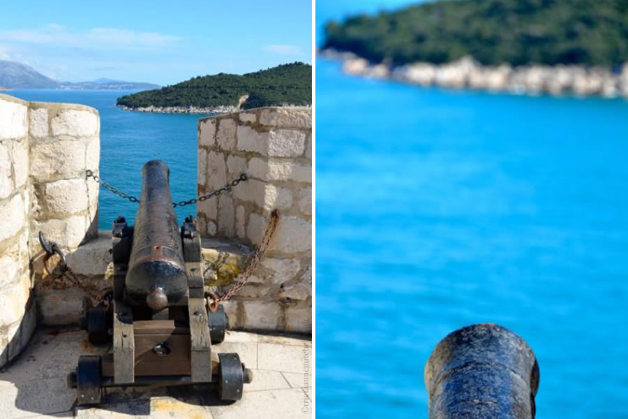 Dubrovnik Canon Walls