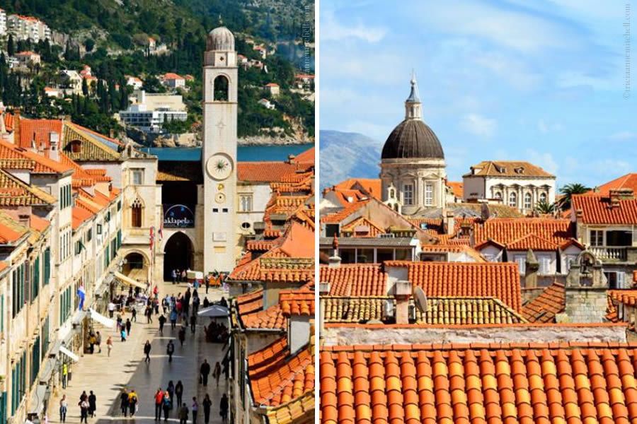 Dubrovnik Stradun Cathedral