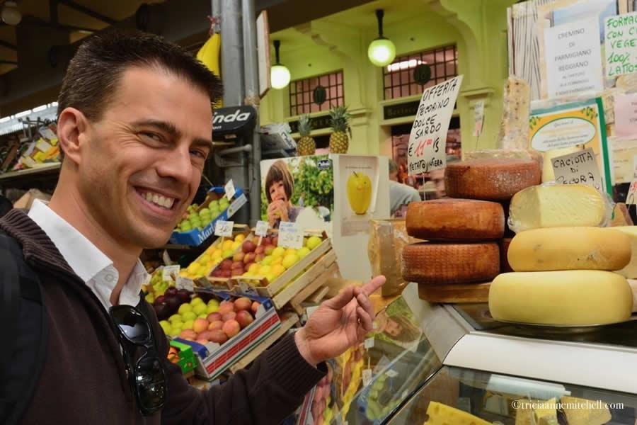 Italian Cheese Mercato Albinelli Modena