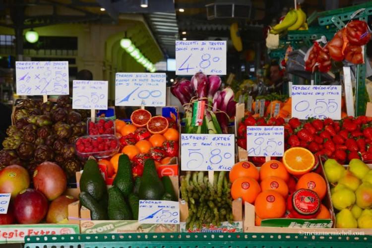 Italian Fruit Vegetables Mercato Albinelli Modena