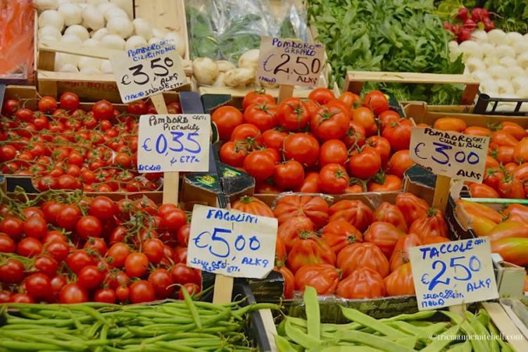 Italian Vegetables Mercato Albinelli Modena
