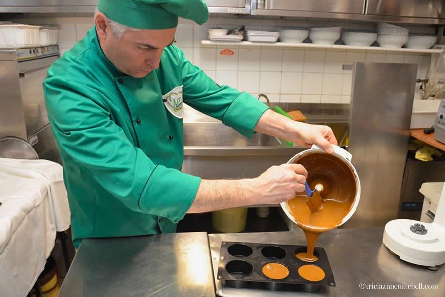 Modena Italy Cooking Class Chocolate Dessert