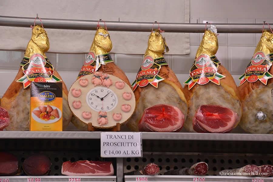 Parma Ham Mercato Albinelli Modena