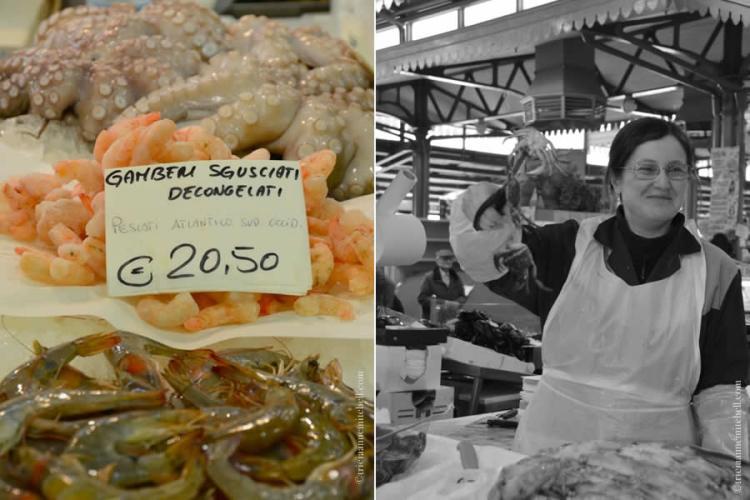 Seafood Modena Market Italy
