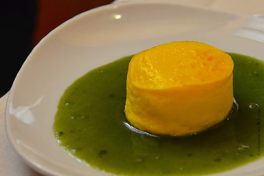 Souffle di Parmigiano Modena Italy
