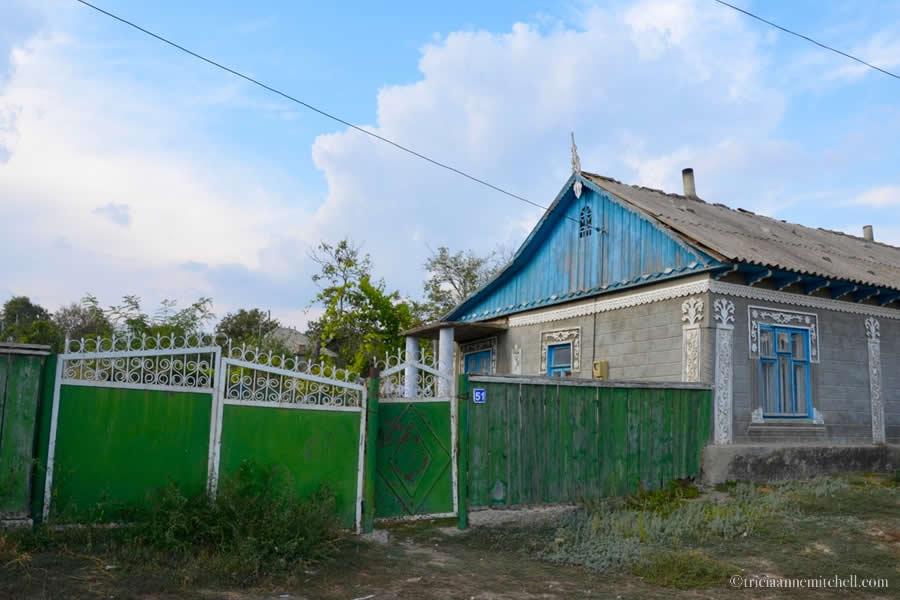 Moldova Village Home Folk Art