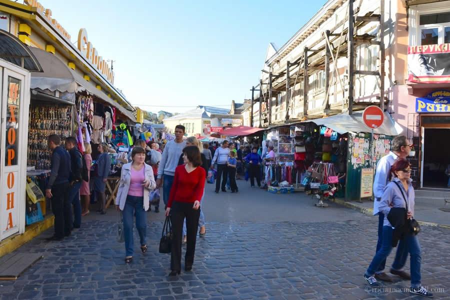 Krakivsky Market Lviv Ukraine