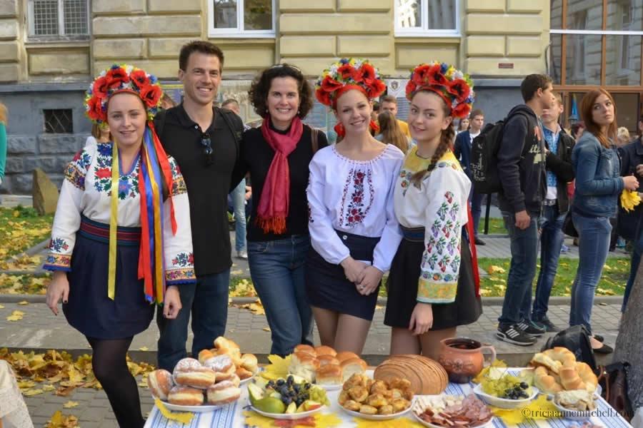 Lviv Ukraine traditional dress