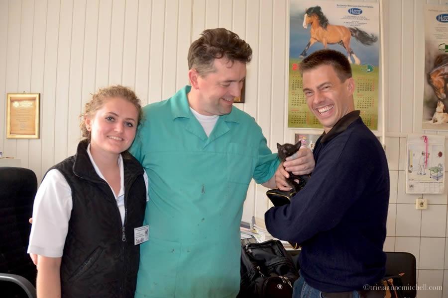 Ukrainian Veterinarian Visit