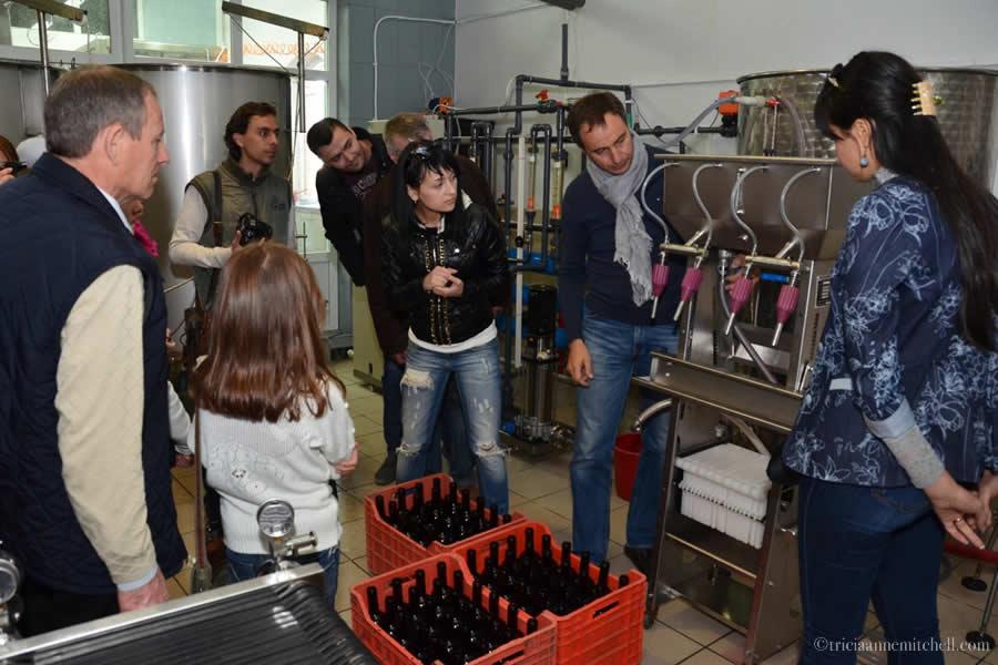 Bottling Wine Et Cetera Winery Moldova