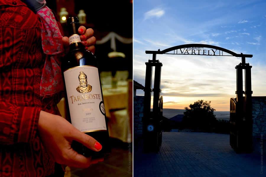 Chateau Vartely Moldovan Taraboste Wine