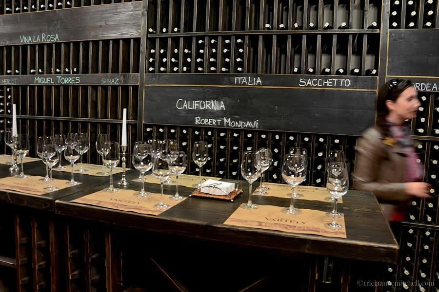 Chateau Vartely Moldovan Wine Tasting Room
