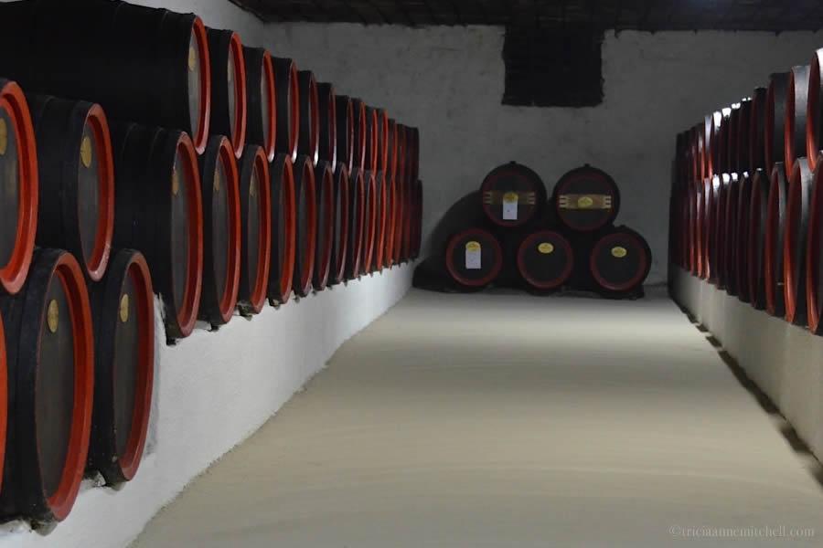 Cricova Winery Barrels Moldova