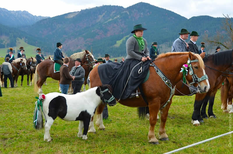 Leonhardiritt horse blessing in unterammergau 5