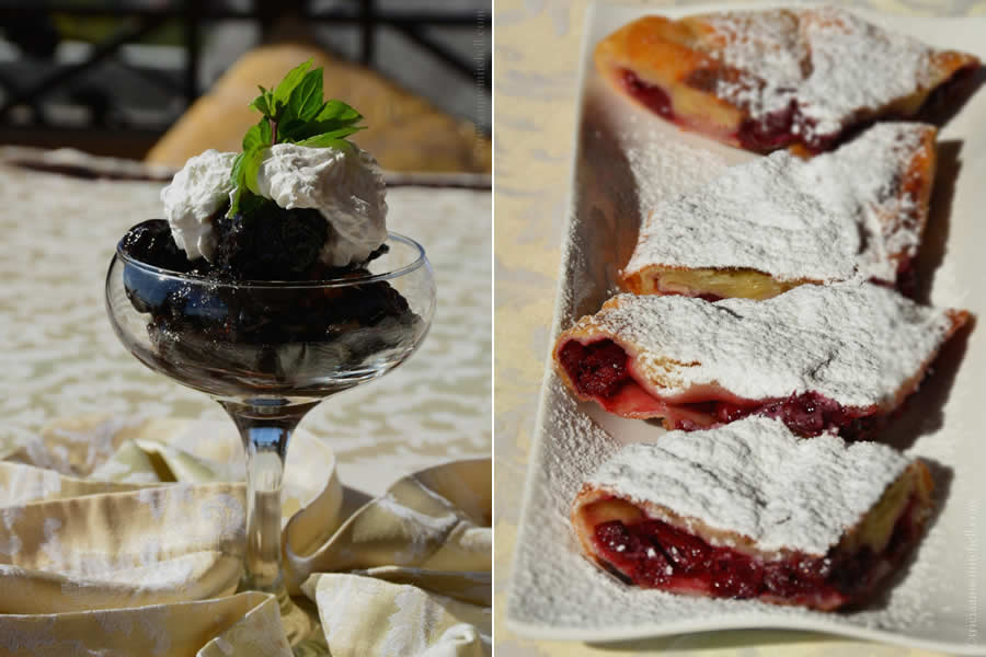 Moldovan Desserts Placinte and Plums with Walnuts Chateau Vartely