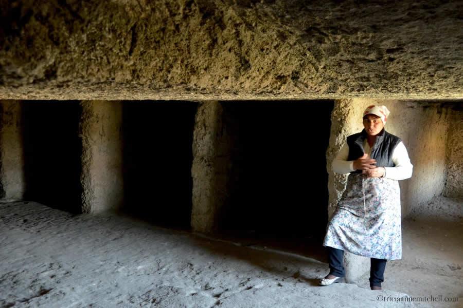 Old Orhei Cave Monastery Sleeping Area