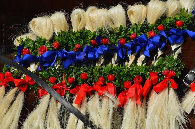 Unterammergau horse blessing parade 3