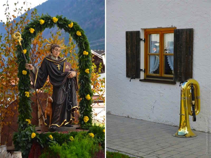 Unterammergau Leonhardiritt Germany 1