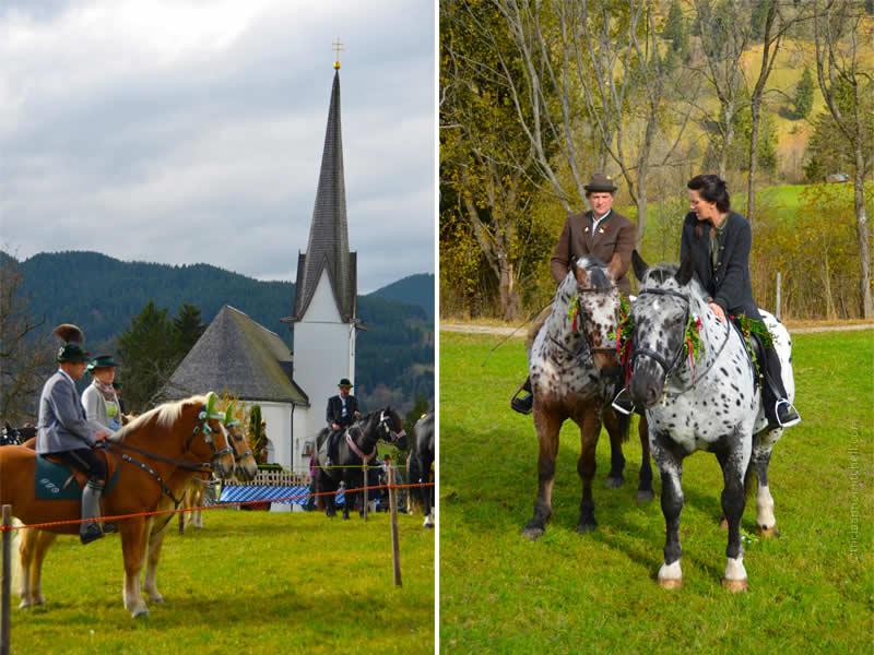 Unterammergau Leonhardiritt horse blessing 11