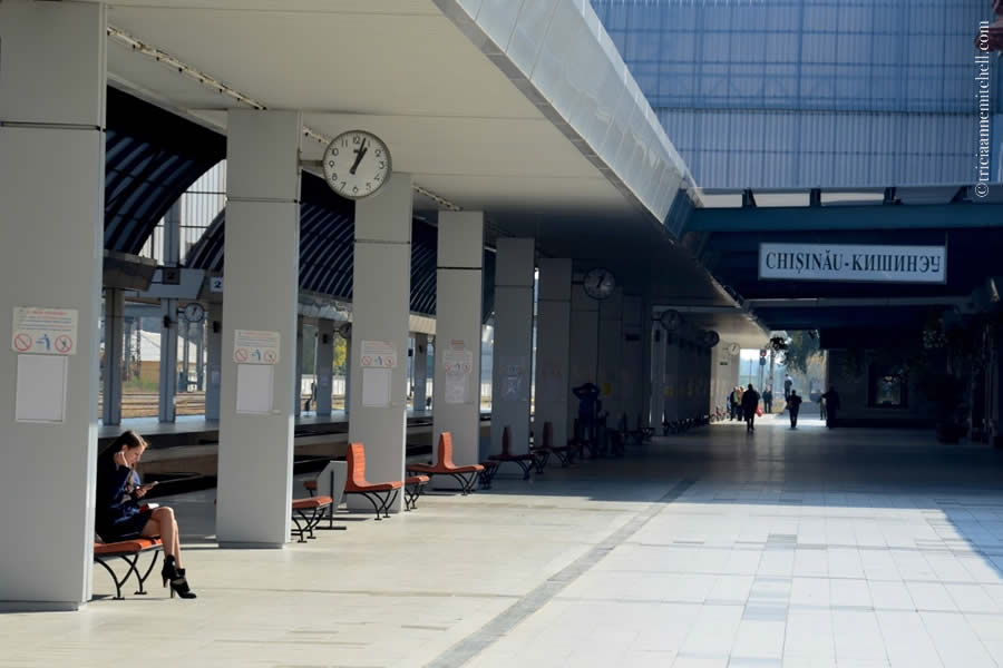 Chisinau Train Station Moldova 2