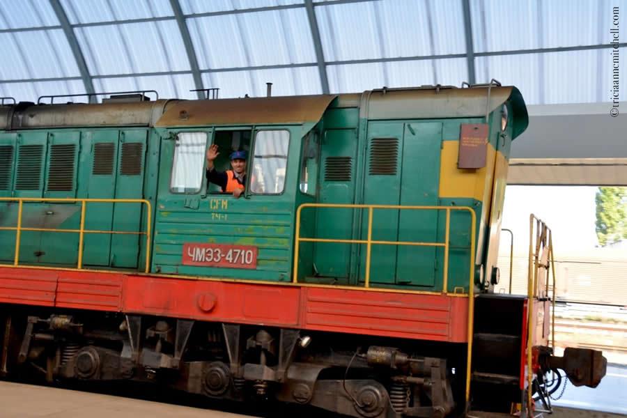 Chisinau Train Station Moldova