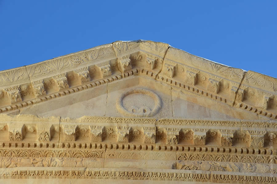 Jupiter Temple Detail Split Croatia
