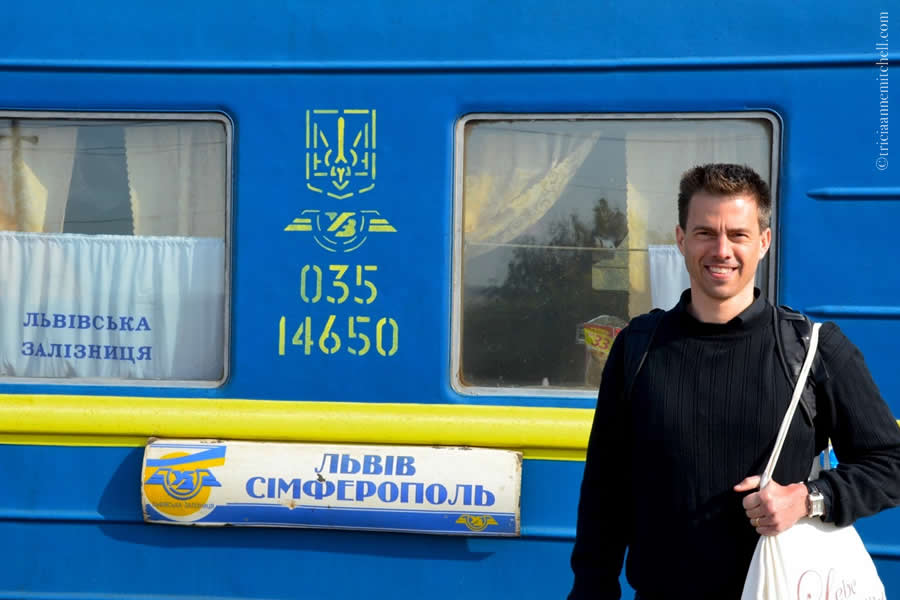 Lviv Ukraine Train