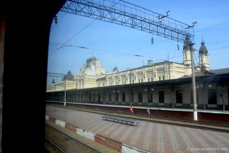 Zhmerynka Train Station Ukraine