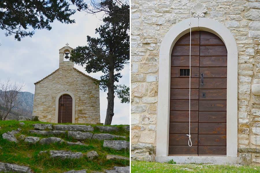 Church on Kozjak Mountain near Split