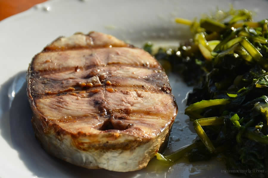 Croatian Seafood Grilled Palamida