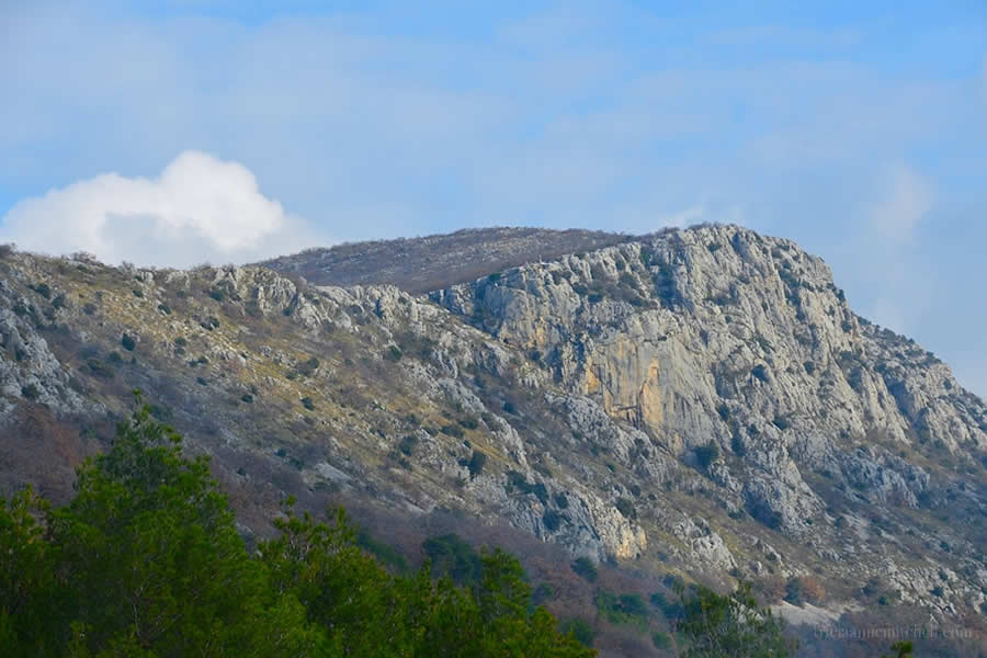 Mountains near Split Croatia