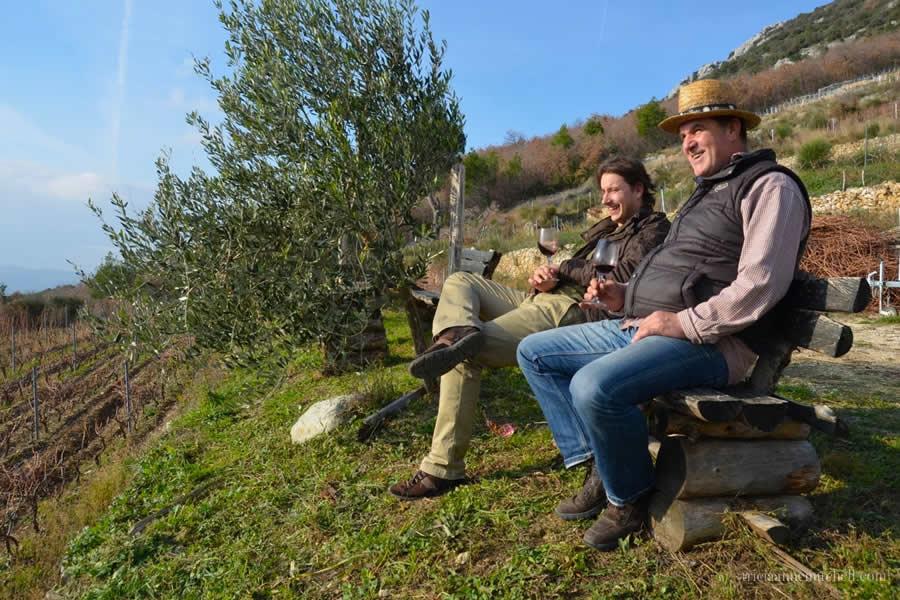 Srdjan Mitrovic and Jaksa Bedalov on Art of Wine Tour