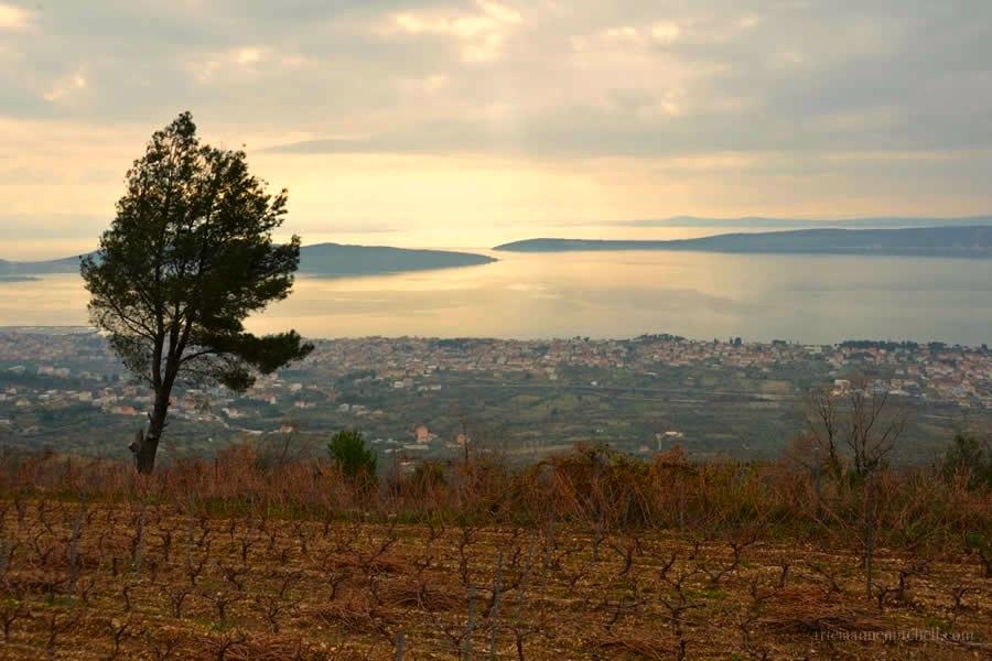 View of Adriatic Sea and Croatian Islands near Split 2