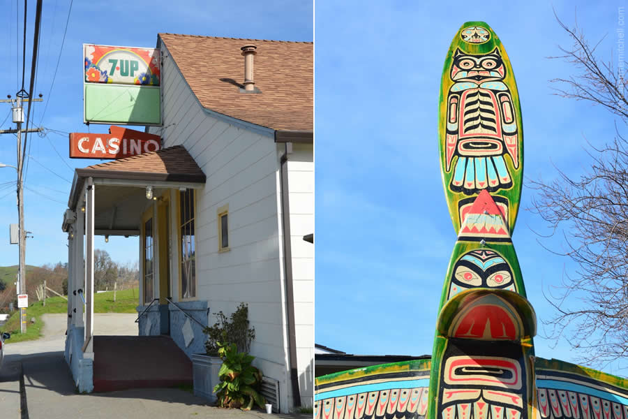 Totem Pole Bodega California
