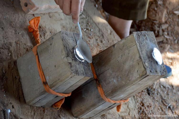 Ban Napia Bombs into Spoons Laos