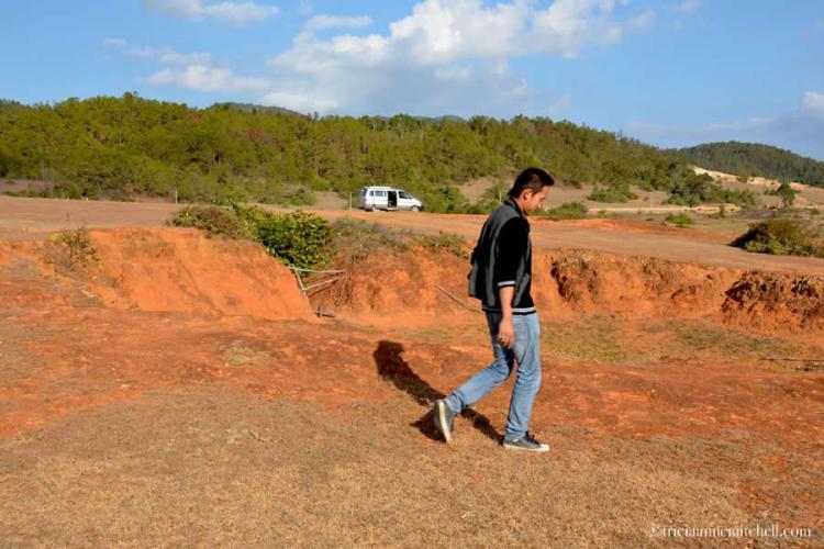Bomb Crater Rural Laos