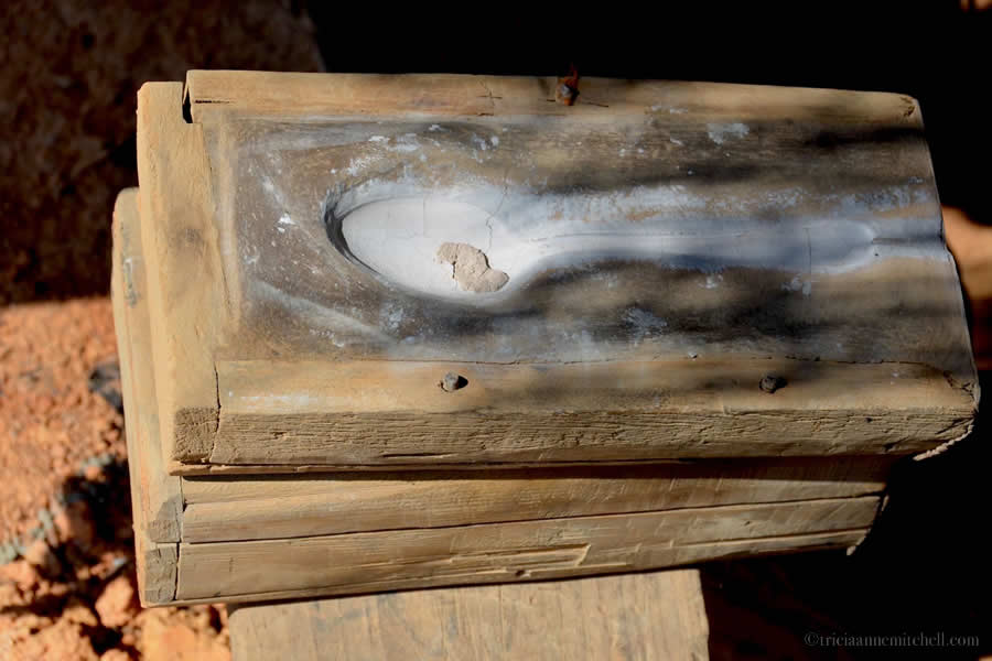 Bomb to Spoon Mold Laos