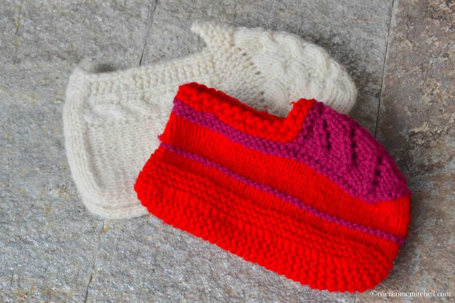 Bulgarian Hand Knit Booties
