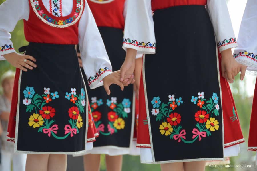 Bulgarian Traditional Folk Dancing Costumes