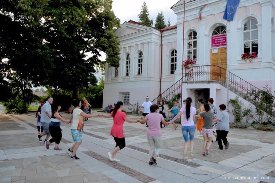 Dance Practice Kalofer Bulgaria Circle