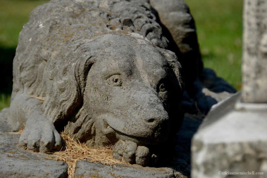 Dimick Dog Statue