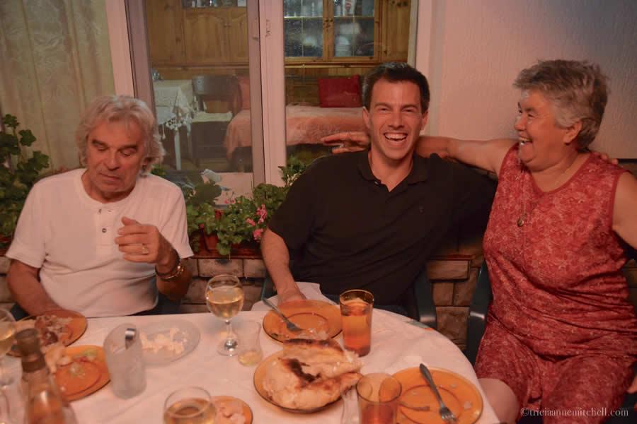 Dinner in Bulgaria