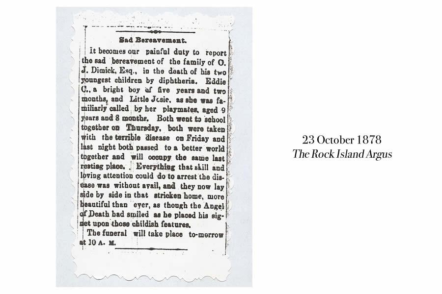 Eddie and Josie Dimick Obituary 1878