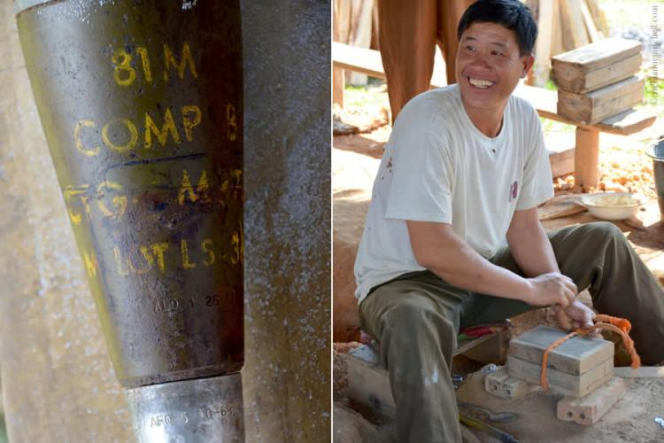 From bombs to spoons Laos