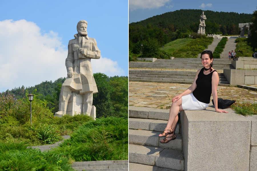 Kalofer Bulgaria Hristo Botev Statue