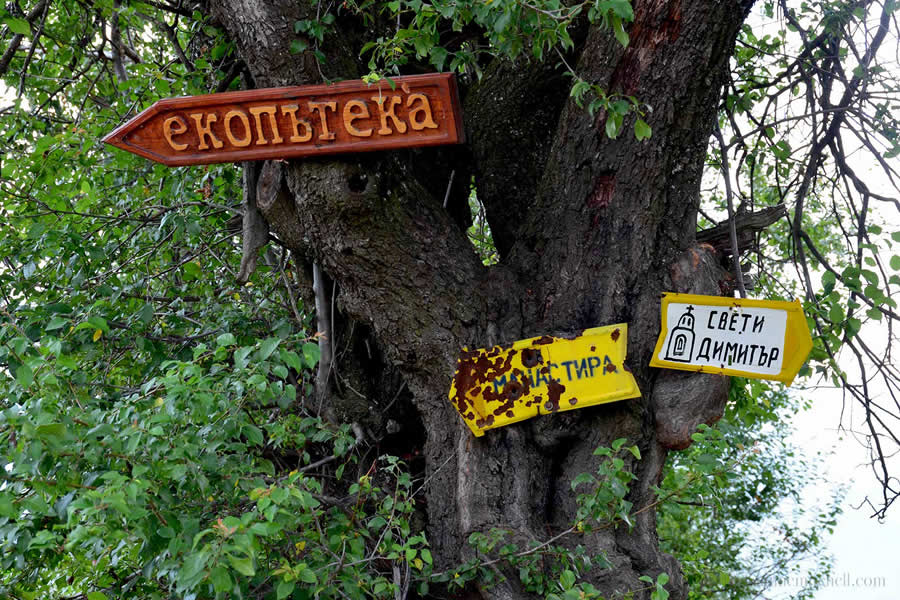 Kalofer Ecotrail Bulgaria Signs