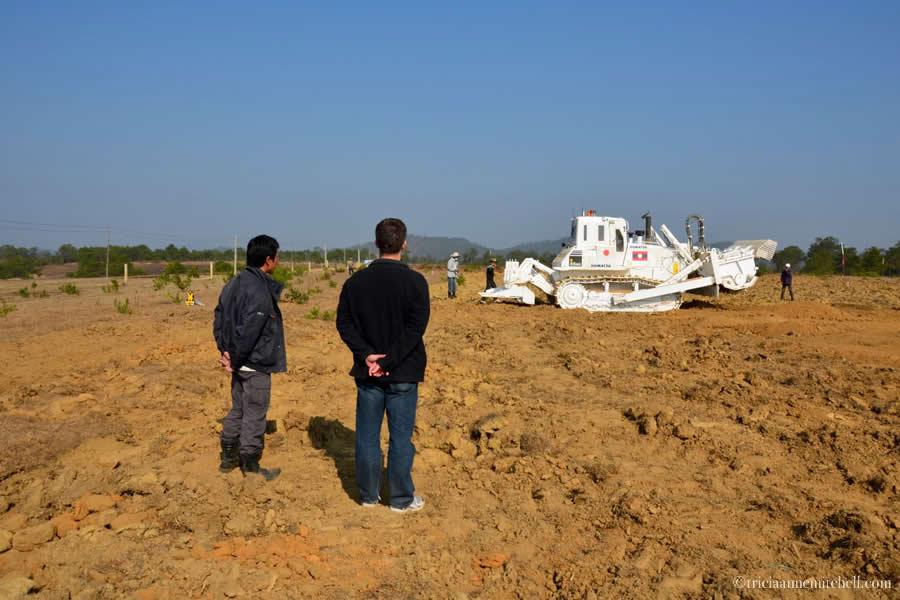 Komatsu JMAS Landmine Removal Laos