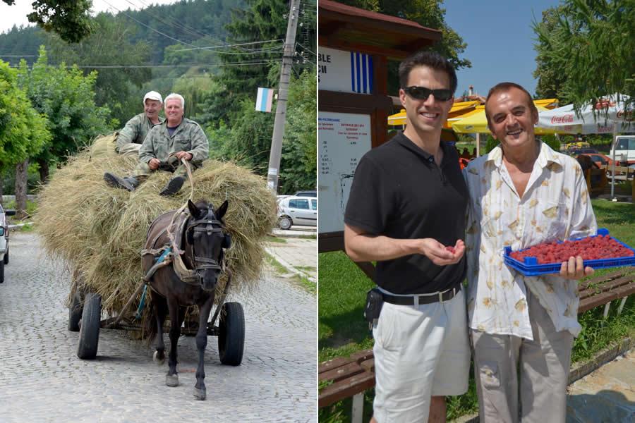 Locals in Kalofer Bulgaria