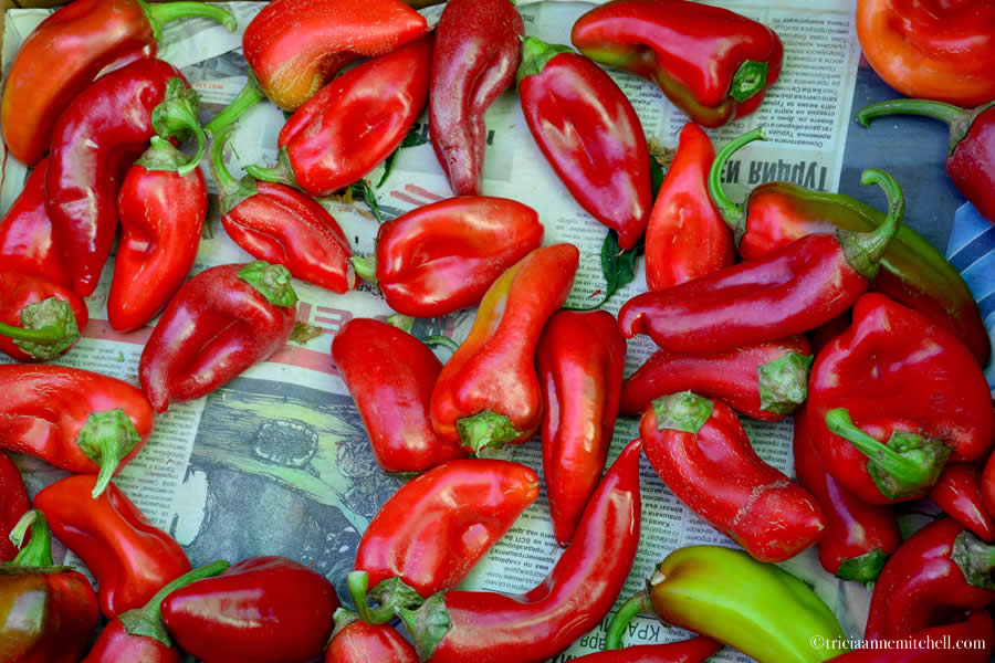 Peppers Bulgaria Fresh Market Kalofer