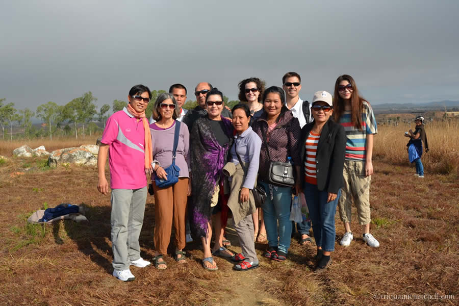 Plain of Jars Laos Group Visit